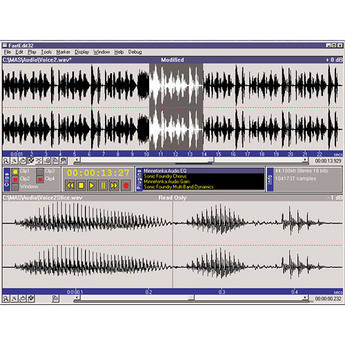 SurCode Fast Edit 4.1 - Audio Editor for Windows