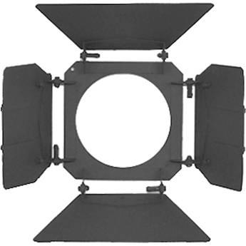 """Mole-Richardson 4-Way/8-Leaf Barndoor Set for 8"""" Junior Fresnel"""