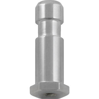 "Mole-Richardson Adapter: 3/8""-16 Female Thread to Baby (5/8"") Receptor"