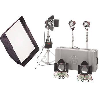 Mole-Richardson Teenie-Weenie 3 Light Pro Kit
