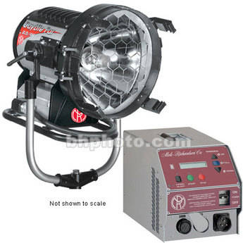 Mole-Richardson 2.5-4K HMI Par 1 Light Kit (90-260V)