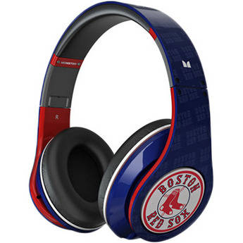 Monster Power Beats by Dr. Dre Studio Red Sox Edition Headphones