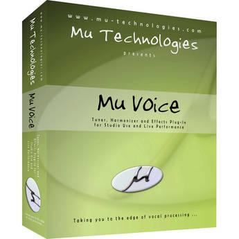 Mu Technologies MU Voice Harmony and Vocal Processing Plug-In