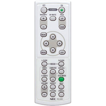 NEC Replacement Remote Control