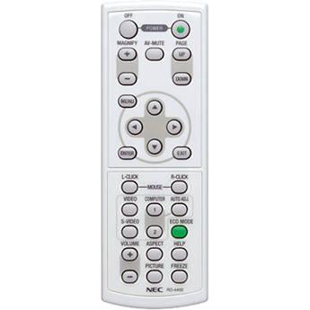NEC Replacement Remote Control