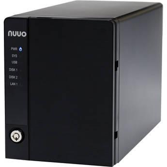 NUUO NVRmini2 NE-2020 NVR and Server (2-Channel, 2 Drive Bays, 1TB)