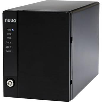 NUUO NVRmini2 NE-2020 NVR and Server (2-Channel, 2 Drive Bays, 3 TB)