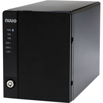 NUUO NVRmini2 NE-2020 NVR and Server (2-Channel, 2 Drive Bays, 4 TB)