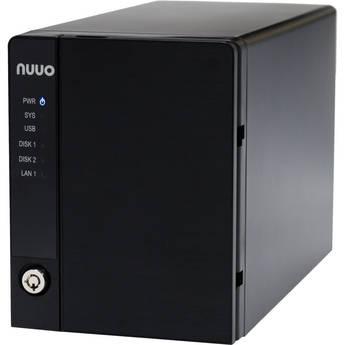 NUUO NVRmini2 NE-2040 NVR and Server (4-Channel, 2 Drive Bays, US Power Cord)