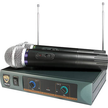 Nady DKW-Duo Dual Handheld Wireless Microphone System
