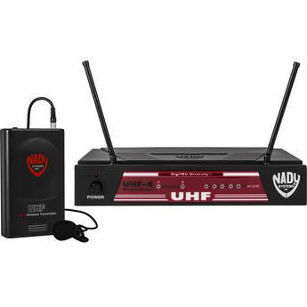 Nady UHF-4 UHF Wireless Lavalier Microphone System