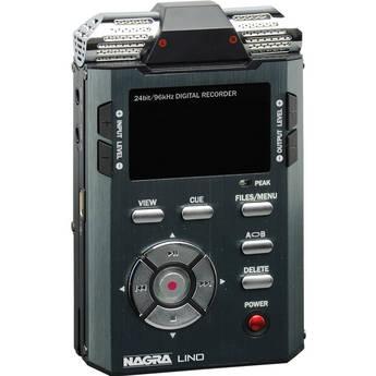 Nagra LINO - Professional Handheld PCM/MP3 Recorder