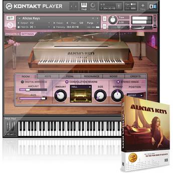 Native Instruments ALICIA'S KEYS - Virtual Piano Software Instrument