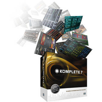 Native Instruments KOMPLETE 7 - Virtual Instruments and Effects Bundle
