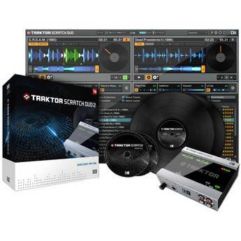 Native Instruments TRAKTOR SCRATCH DUO 2 - Professional Digital Vinyl System (Upgrade)