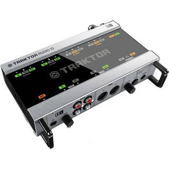 Native Instruments TRAKTOR SCRATCH A10- AUDIO 10 DJ Audio Interface and TRAKTOR SCRATCH PRO 2 DJ Software