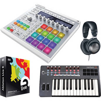 Native Instruments MASCHINE MK2 Groove Production Studio Kit (White)