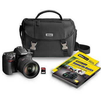 Nikon D7000 DSLR Camera with NIKKOR 18-200mm DX VR II Lens and Accessory Bundle