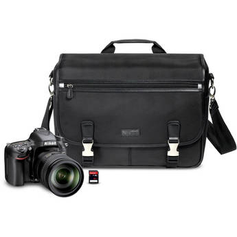 Nikon D600 Digital SLR Camera with 28-300mm f/3.5-5.6G AF-S ED VR Zoom Lens Kit