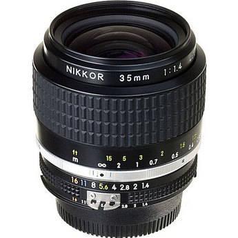 Nikon Wide Angle 35mm f/1.4 AIS Manual Focus Lens