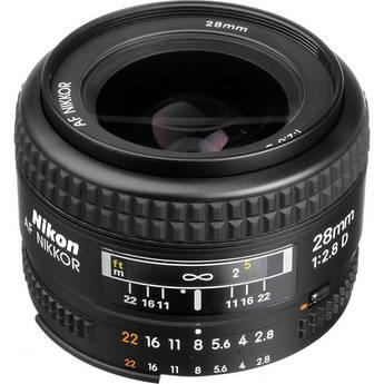 Nikon AF NIKKOR 28mm f/2.8D Autofocus Lens