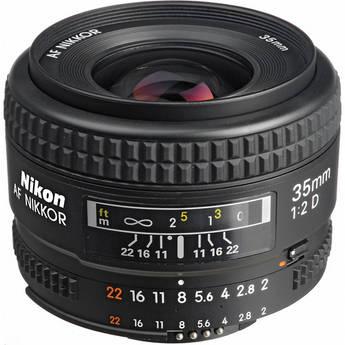 Nikon Wide Angle AF Nikkor 35mm f/2.0D Autofocus Lens