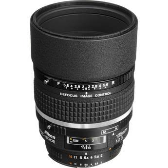 Nikon Telephoto AF DC Nikkor 105mm f/2.0D Lens
