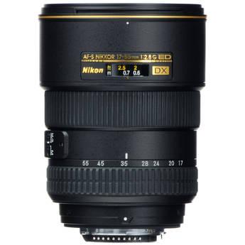 Nikon 17-55mm f/2.8G ED-IF AF-S DX Lens