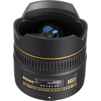 Nikon 10.5mm f/2.8G ED DX Fisheye Nikkor Lens