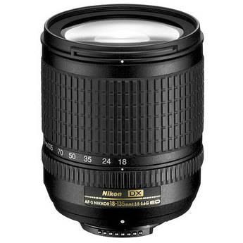Nikon 18-135mm f/3.5-5.6 ED-IF AF-S DX Lens