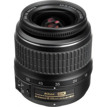 Nikon 18-55mm f/3.5-5.6G ED II AF-S DX Zoom-Nikkor Autofocus Lens