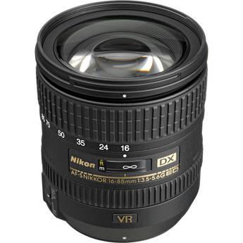 Nikon 16-85mm f/3.5-5.6G ED VR AF-S DX Nikkor Lens