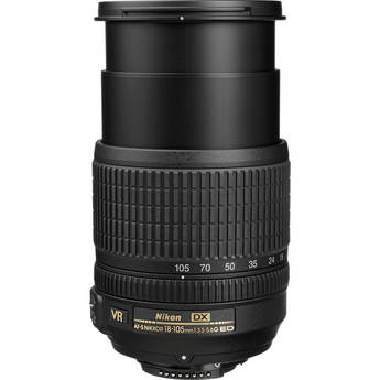 Nikon AF-S DX NIKKOR 18-105mm f/3.5-5.6G ED VR Lens