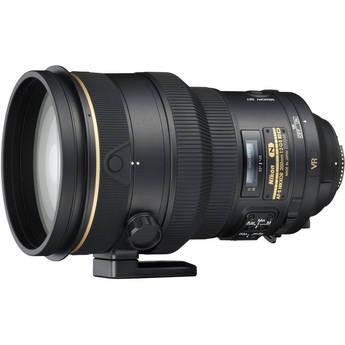 Nikon AF-S NIKKOR 200mm f/2G ED VR II Telephoto Lens