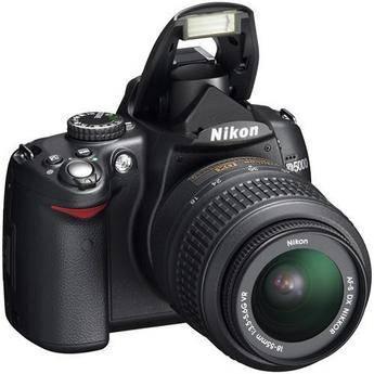 Nikon D5000 Digital SLR Camera Kit with 18-55mm VR Lens