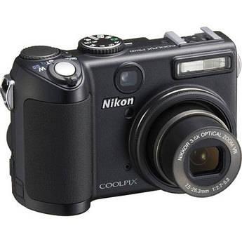 Nikon Coolpix P5100 Digital Camera (Black)