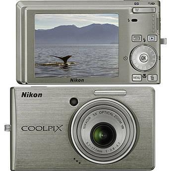 Nikon Coolpix S510 Digital Camera (Silver)