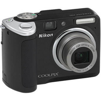 Nikon Coolpix P50 Digital Camera (Black)