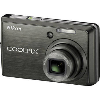 Nikon Coolpix S600 Digital Camera (Slate Black)