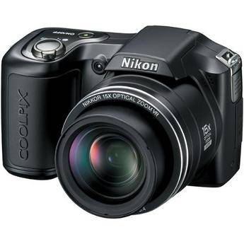 Nikon Coolpix L100 Digital Camera (Matte Black)