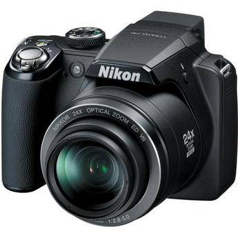 Nikon Coolpix P90 Digital Camera (Matte Black)