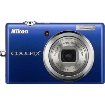 Nikon CoolPix S570 Digital Camera (Blue)