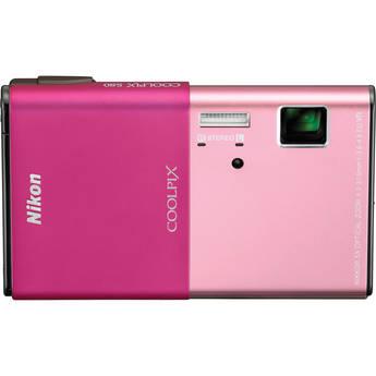 Nikon CoolPix S80 Digital Camera (Pink)