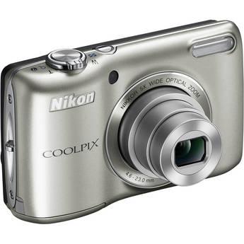 Nikon Coolpix L26 Digital Camera (Silver)