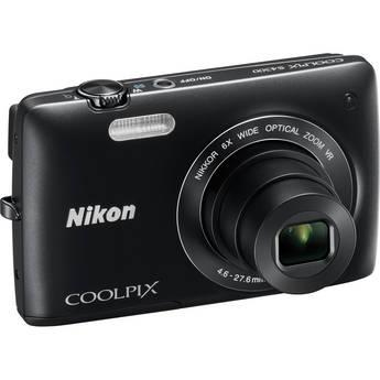 Nikon Coolpix S4300 Digital Camera (Black)