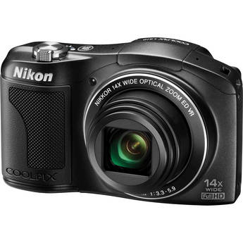 Nikon COOLPIX L610 Digital Camera (Black)