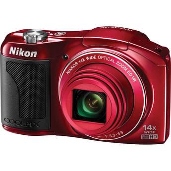 Nikon COOLPIX L610 Digital Camera (Red)