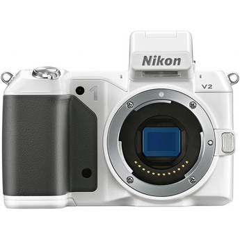 Nikon Nikon 1 V2 Mirrorless Digital Camera (White)