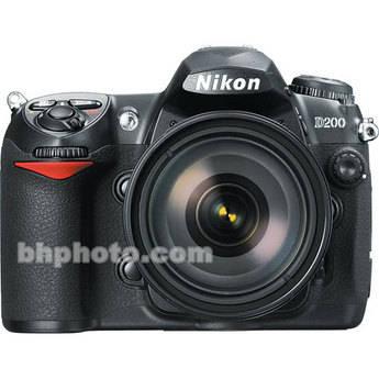 Nikon D200 SLR Digital Camera Kit with 18-135mm Lens