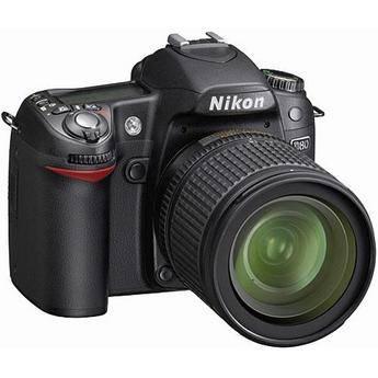Nikon D80 SLR Digital Camera Kit with 18-135mm Lens